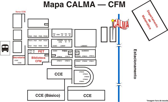 Mapa CALMA - CFM